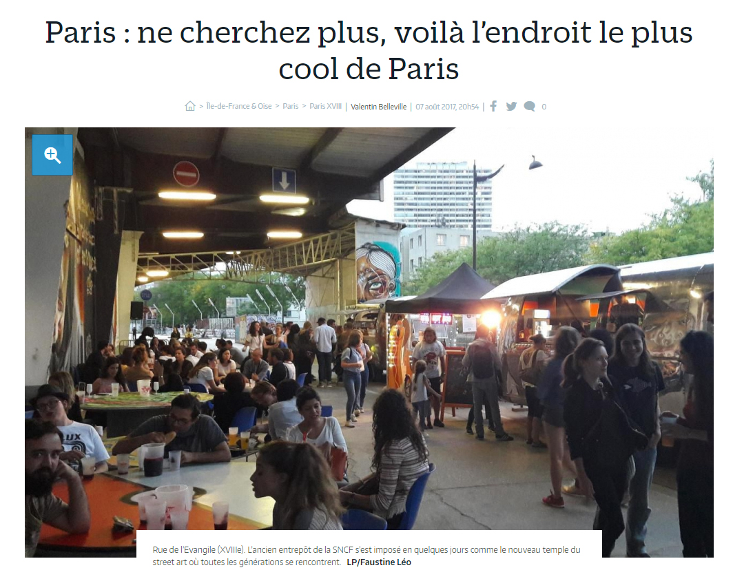 Le lieu le plus cool de Paris
